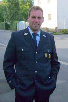 Jugendwart Mathias Oswald